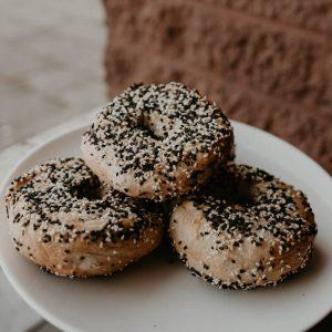 Sesame bagel