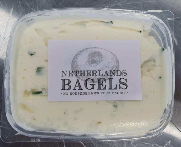 New York style cream cheese with chives