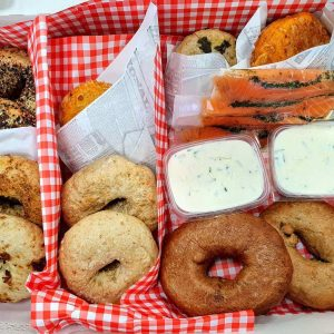 Bagel brunch box