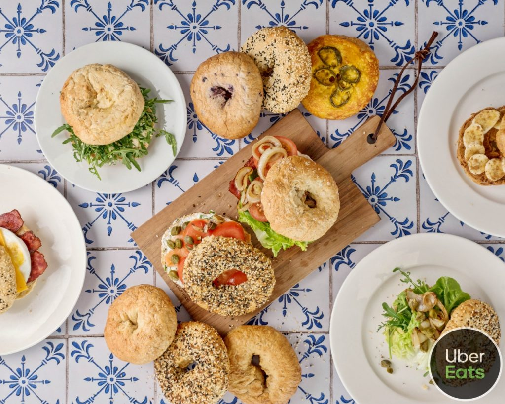 Bagel sandwich assortment
